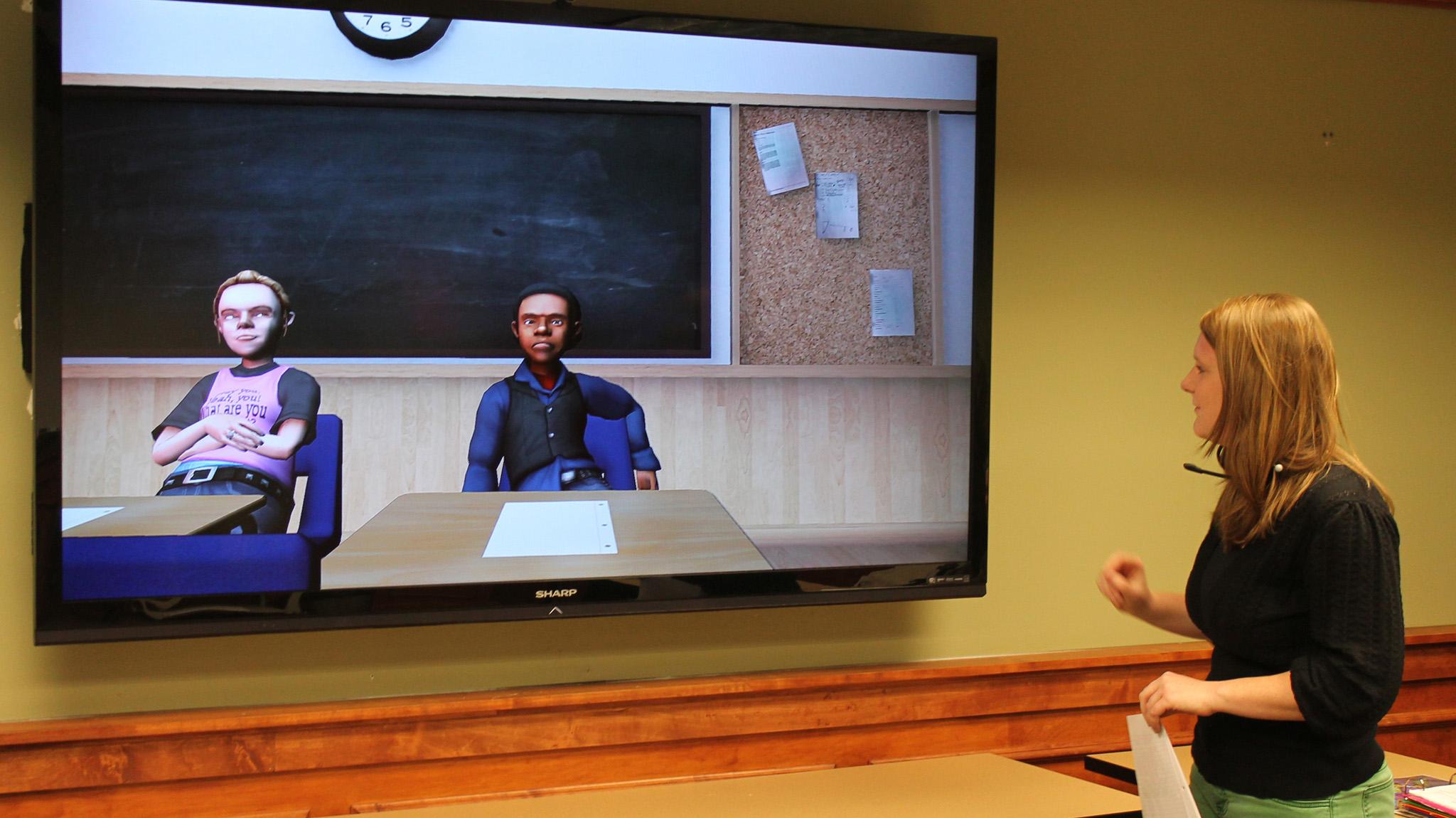 Education Technology Virtual Teacher